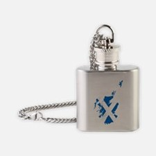 Scotland Flask Necklace