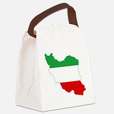 Iran(tricolour) Canvas Lunch Bag