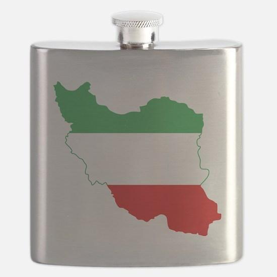 Iran(tricolour) Flask