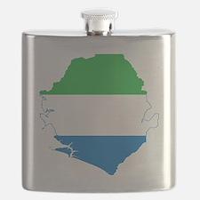 Sierra Leone Flask
