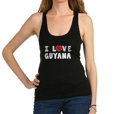 I Love Guyana Racerback Tank Top