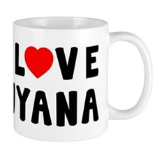 I Love Guyana Mug