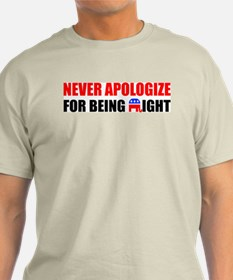 """Never Apologize For Being Right"" Color"