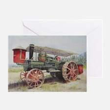 The Minneapolis Steam Tractor Greeting Card