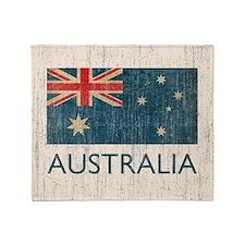 VintageAustralia Throw Blanket