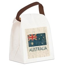 VintageAustralia Canvas Lunch Bag