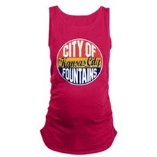 Kansas City Vintage Maternity Tank Top