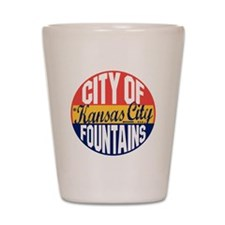 Kansas City Vintage Shot Glass