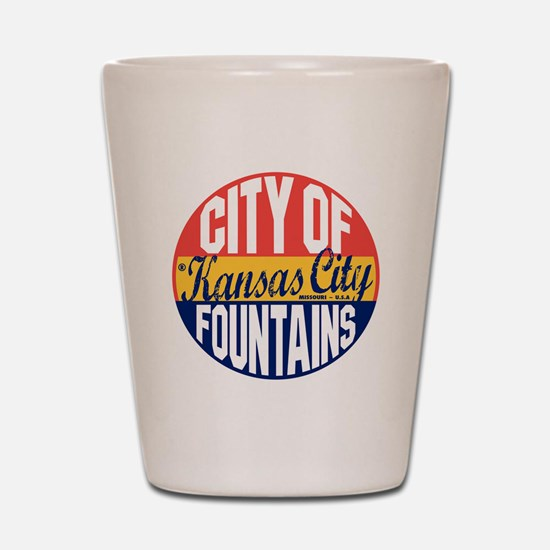 Kansas City Vintage Shot Glass