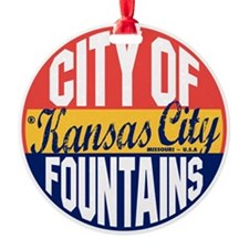 Kansas City Vintage Ornament