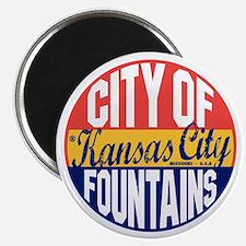 Kansas City Vintage Magnet