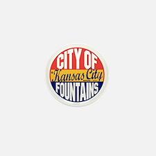 Kansas City Vintage Mini Button
