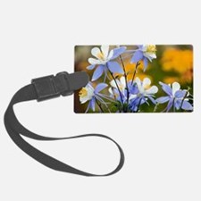 Blue Columbine (Aquilegia coerul Luggage Tag