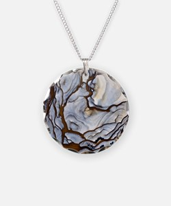 Blue Biggs Jasper stone Necklace