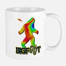 Bigfoot Rainbow Colored Mug
