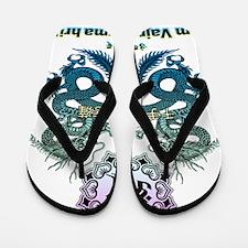 Senjukannon-bosatsu2 Flip Flops