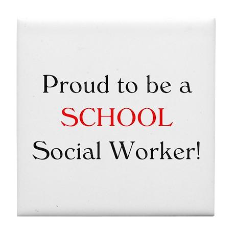 Proud School SW Tile Coaster
