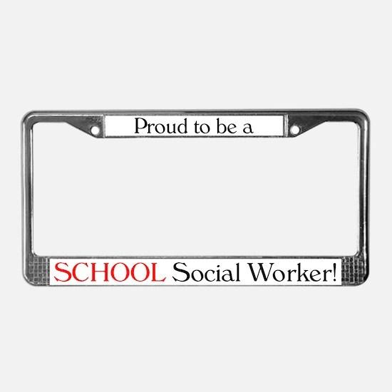 Proud School SW License Plate Frame
