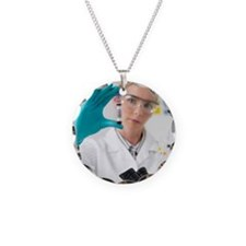 Blood research Necklace