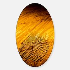 Biometric security, artwork Decal