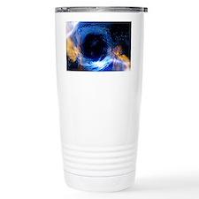 Black hole, conceptual artwork Thermos Mug