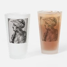 Alexander the Great, King of Macedo Drinking Glass