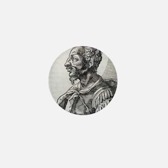 Attila, Emperor of the Huns Mini Button