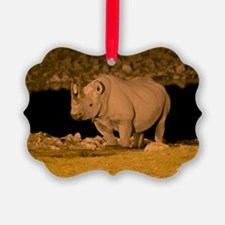 Black rhinoceros Ornament