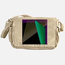 Geometric Spotlight Messenger Bag