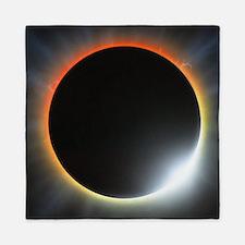 Annular solar eclipse, artwork Queen Duvet