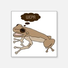 """Coqui Wepa Square Sticker 3"""" x 3"""""""