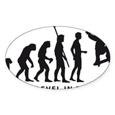 evolution skater Decal