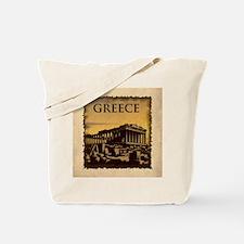 Acropolis Of Athens Tote Bag