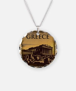 Acropolis Of Athens Necklace