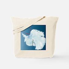 Antarctic exploration, route maps Tote Bag