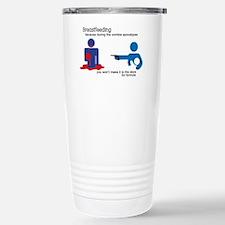 Breastfeeding Zombie Apocalypse Travel Mug