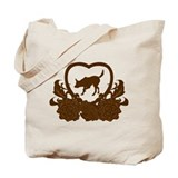 Australian kelpie dog Canvas Bags