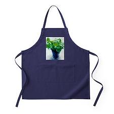 Basil plant Apron (dark)