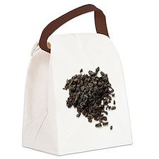 'Gunpowder' green tea leaves Canvas Lunch Bag