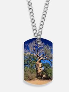 Baobab tree Dog Tags