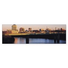 View of Montgomery, Alabama, USA Car Sticker