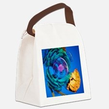 Animal cell, artwork Canvas Lunch Bag