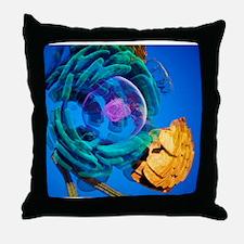 Animal cell, artwork Throw Pillow