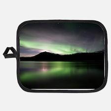 Aurora borealis Potholder