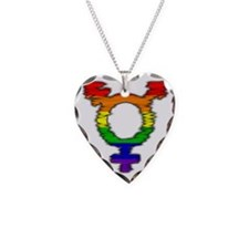 Rainbow Trans* Pride Necklace