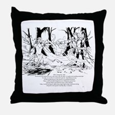 """The Fog"" Throw Pillow"