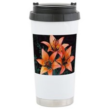 Cluster of wood lilies Travel Mug