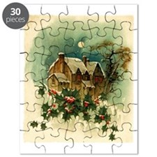 vintage christmas-graphics- Puzzle