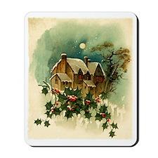 vintage christmas-graphics- Mousepad