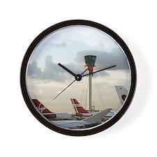 Air traffic control tower, UK Wall Clock